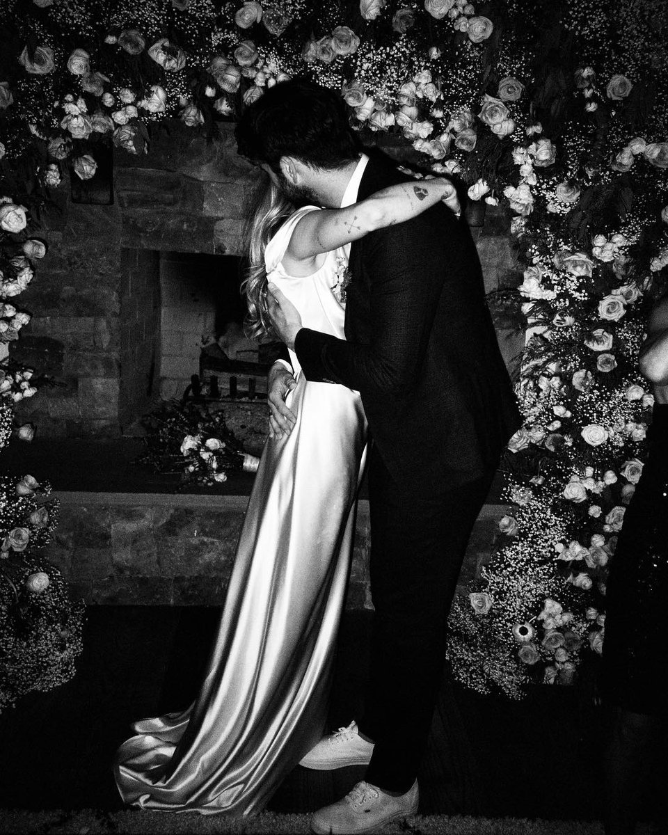 Miley is sharing more photos from her wedding, which means a happy Valentine's Day for us.