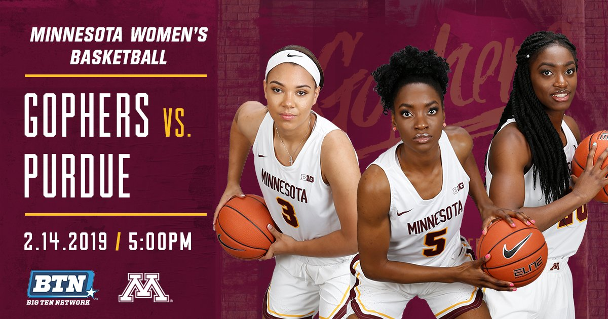 Can't miss TV tonight on @BigTenNetwork, courtesy of @GopherWBB!