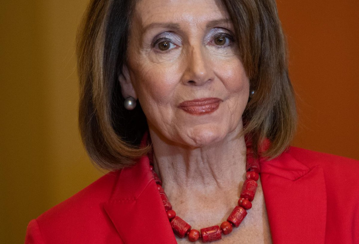 Pelosi suggests Dem president could declare national emergency for gun violence if Trump sets precedent https://trib.al/1xQRR42