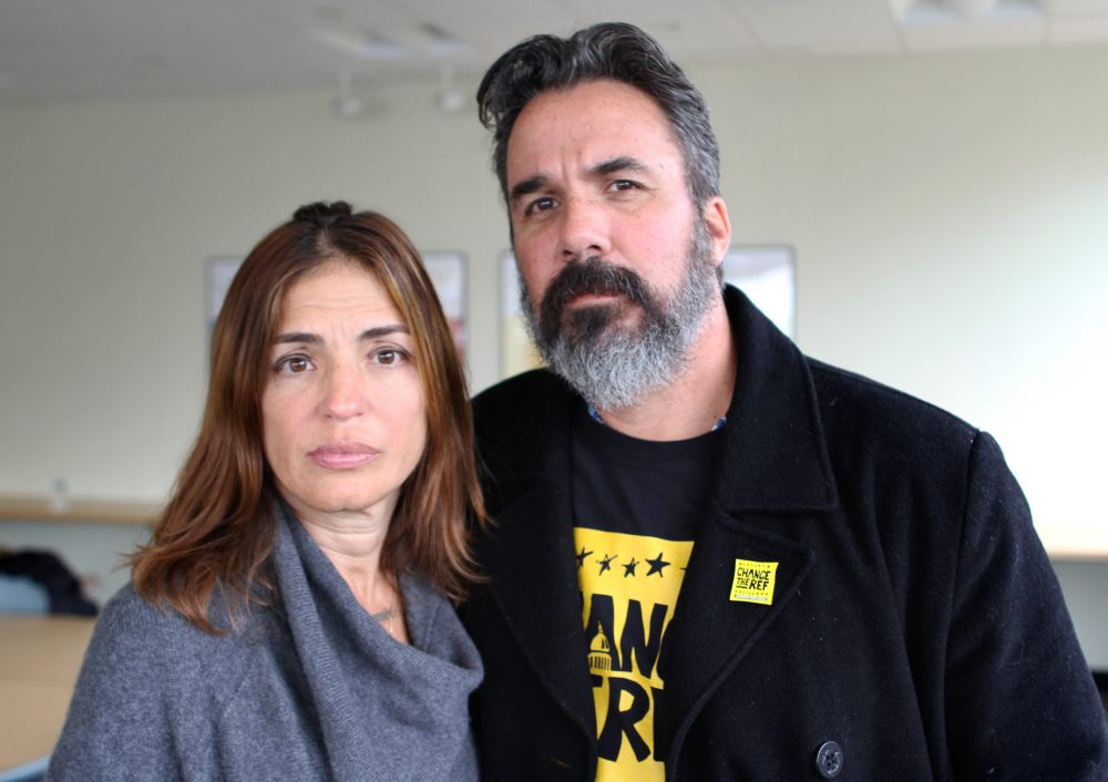 Dear Manny + Patricia Oliver,  You are heroes. Your courage after Joaquin's death in Parkland has inspired us  to never give up. You came to America from Venezuela and America failed your family. But, Joaquin's  legacy as an activist will live forever!   #ToImmigrantsWithLove