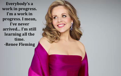 """Happy birthday Renée Fleming! Most recently seen in Broadway\s \""""Carousel\"""""""
