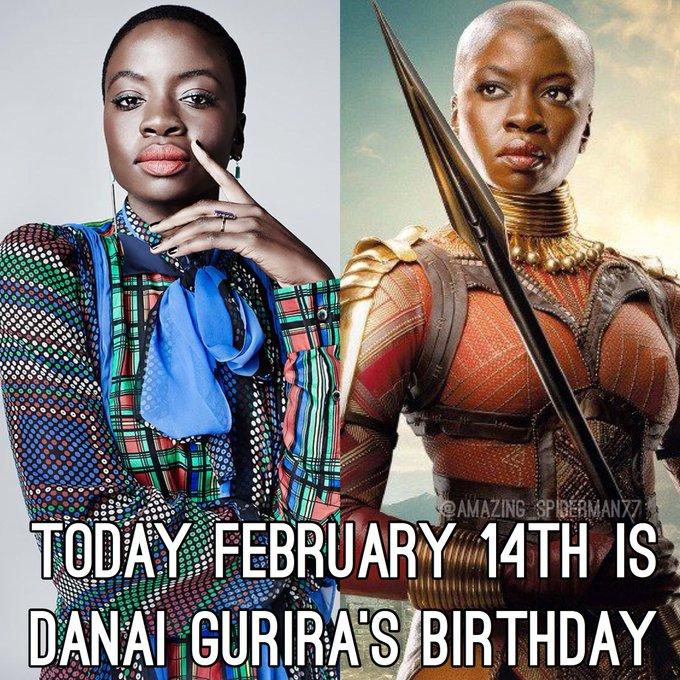 Happy Birthday Danai Gurira!
