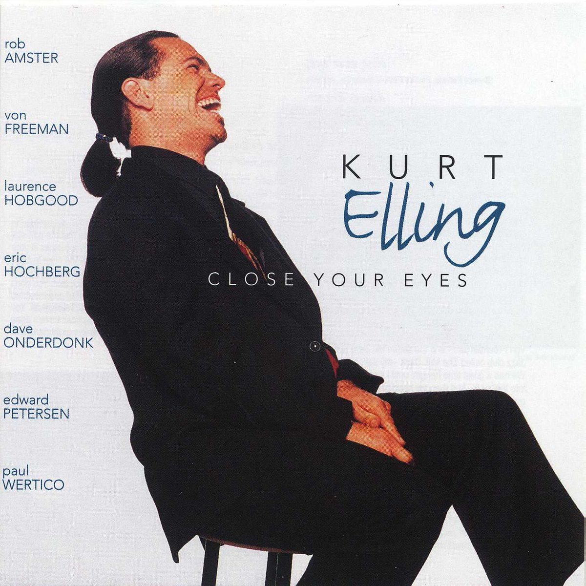 25 years ago today #KurtElling was in the studio recording his debut album 'Close Your Eyes,' Hear the title track on our Jazz Vocals playlist: https://t.co/8LbLRN456h  #OTD