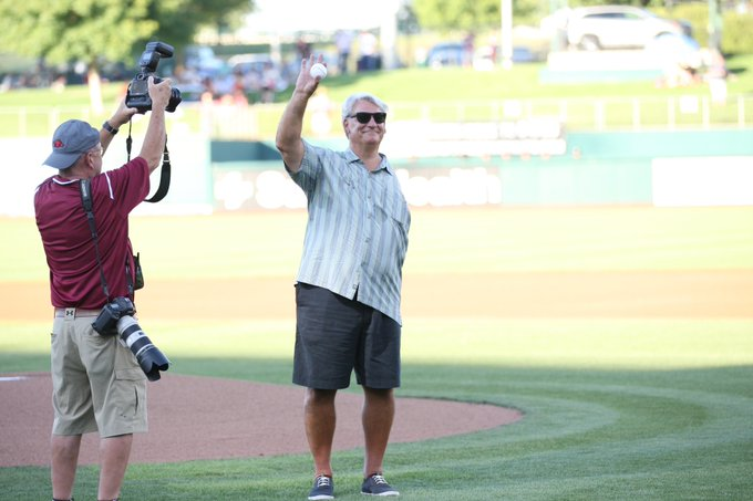 Happy birthday to Dave Dravecky! Thanks for hanging out with us last season