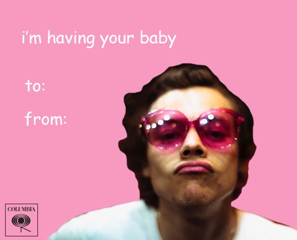 It's none of your business ✨ @Harry_Styles ✨ #ValentinesDay