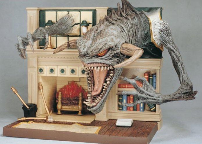 1997 McFarlane Toys spawn the movie Final battle playset