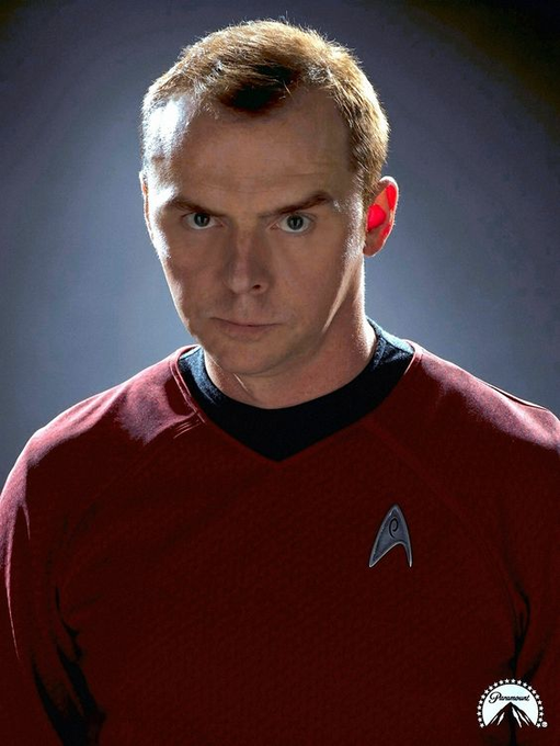 Happy Birthday to Simon Pegg! I hope we can still see him as Scotty.