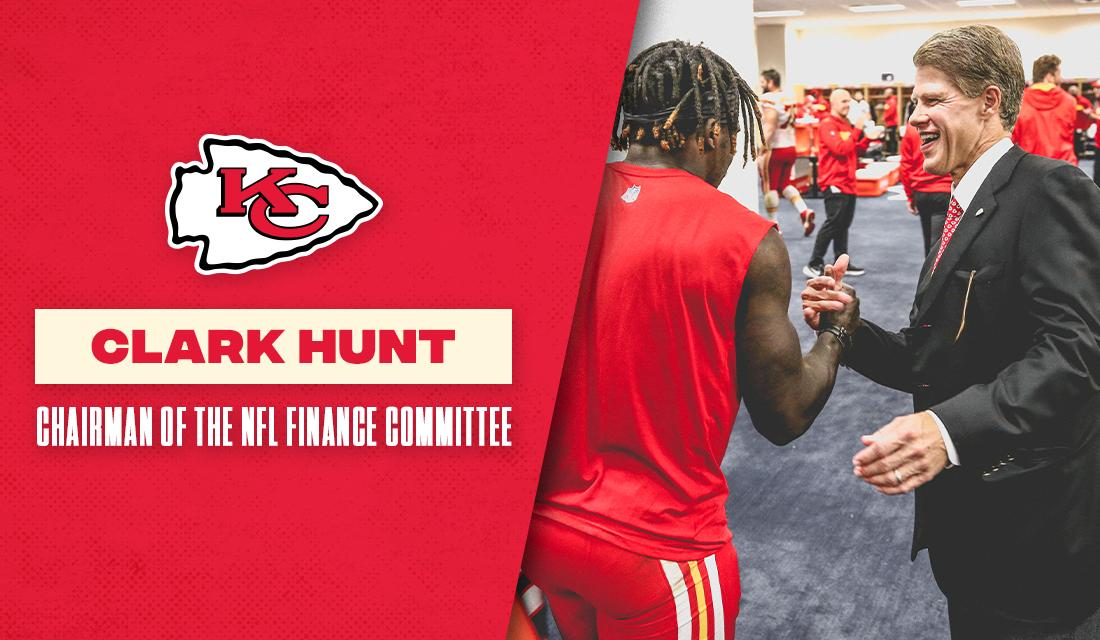 Chairman & CEO Clark Hunt has been named Chairman of the NFL's Finance Committee.  📝 https://chfs.me/2DHKUJc