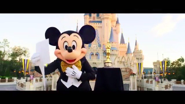 Mickey Mouse is excited to watch the Oscars! Are you ready? Watch the #Oscars live, February 24 8e|5p on @ABCnetwork