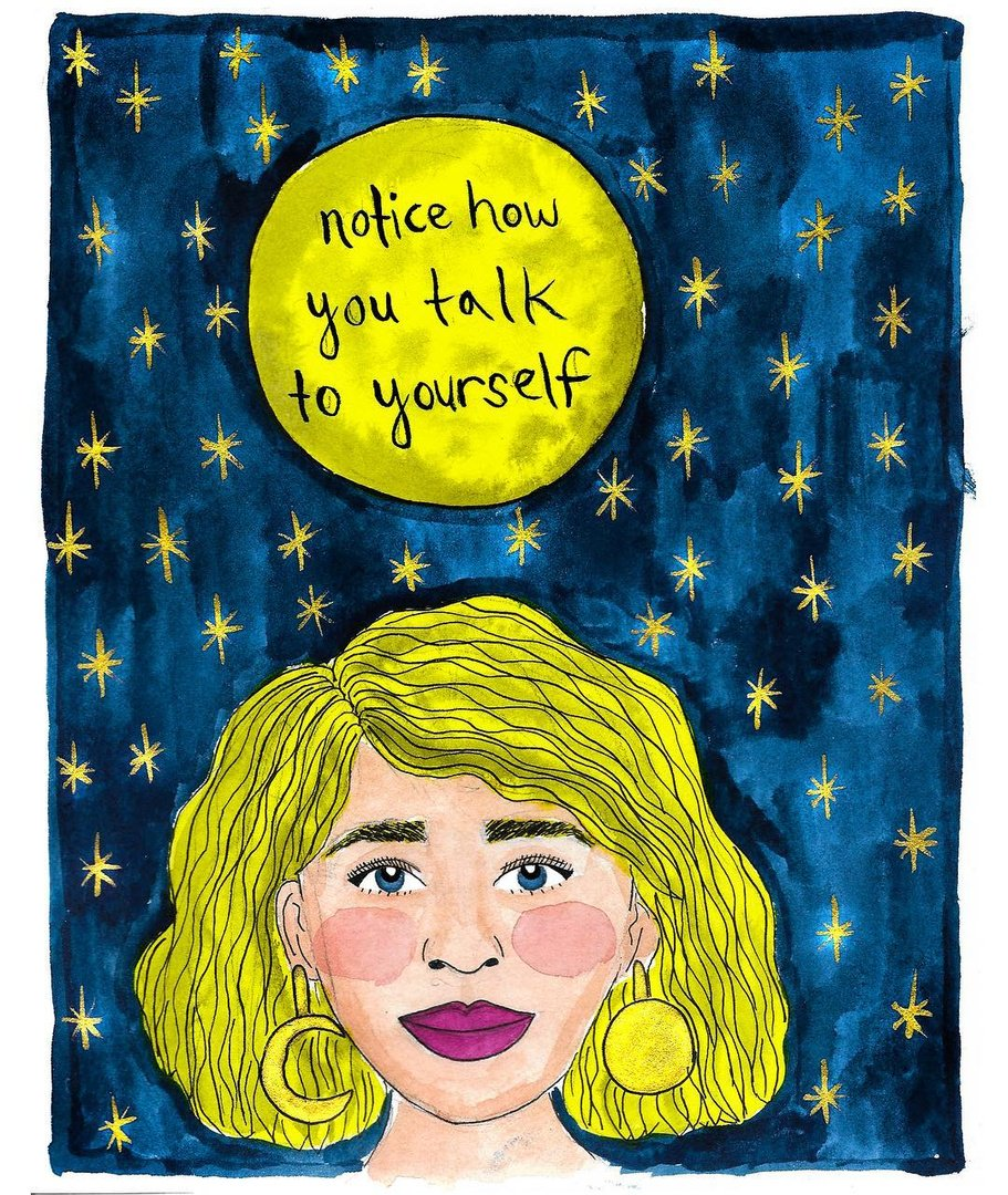 Happy V-Day, friends. 🤗💕 These 7 Instagrammers are here to remind us that self-love is the best love: https://go.brit.co/2BKJ22z (image via @claudiadoodles on Instagram)