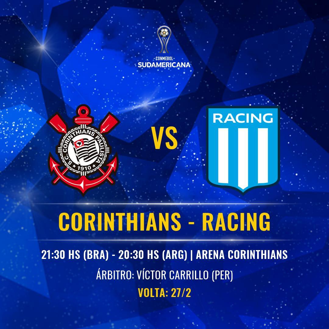 Na Banheira's photo on Corinthians x Racing