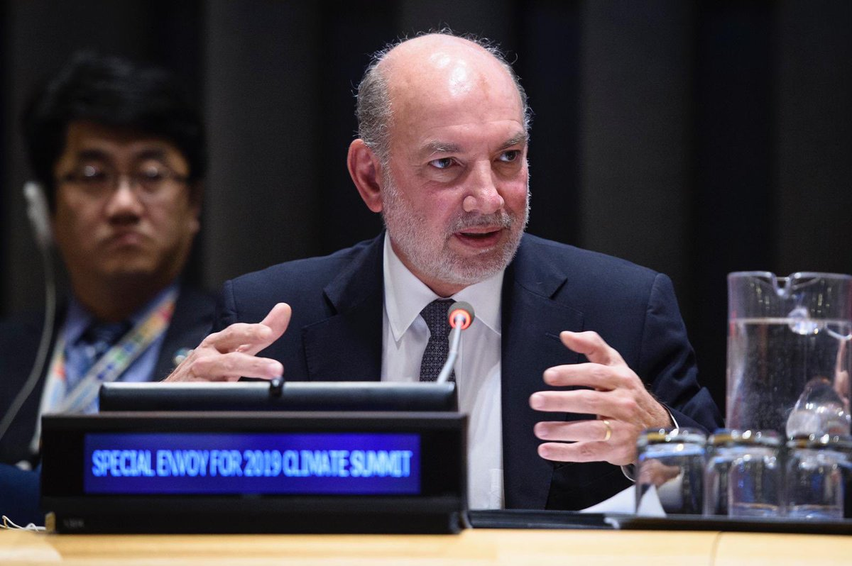 It was a pleasure to brief #UNGA with @UN_PGA on the roadmap to the Climate Action Summit in September. Our vision is clear: we need urgent #climateaction. We will only succeed together!  http:// bit.ly/ARaceWeCanWin  &nbsp;  <br>http://pic.twitter.com/mBW2H0j1fm