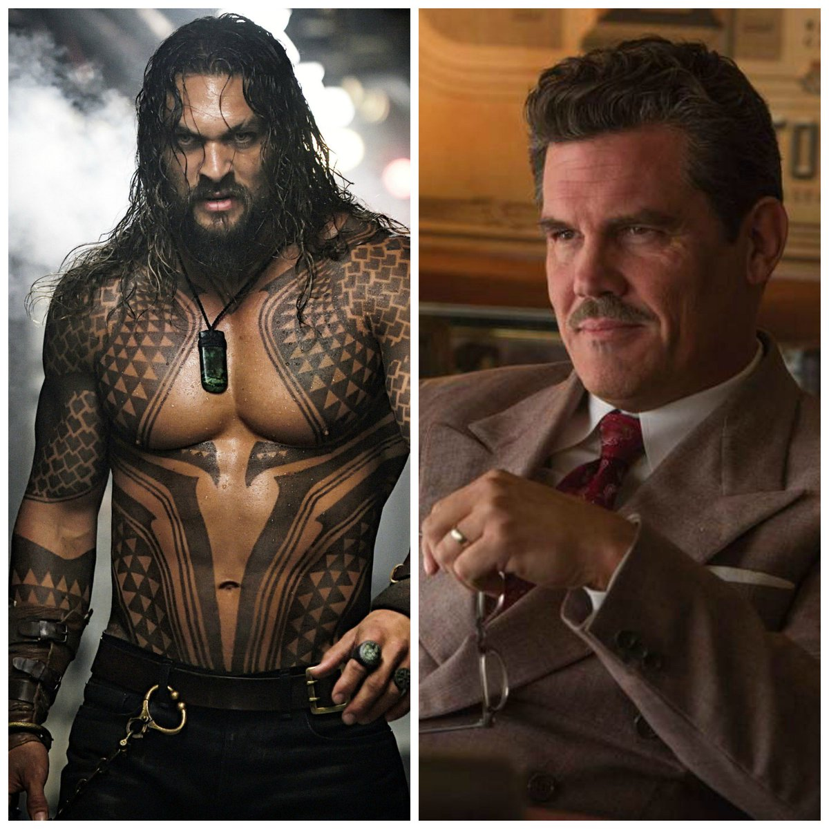 Jason Momoa & Josh Brolin are joining Denis Villeneuve's Dune.  Casual reminder how on stacked this cast is: Timothée Chalamet Rebecca Ferguson Dave Bautista Zendaya Oscar Isaac Javier Bardem Charlotte Rampling Stellan Skarsgård  please respond w/ a GIF corresponding to the hype.