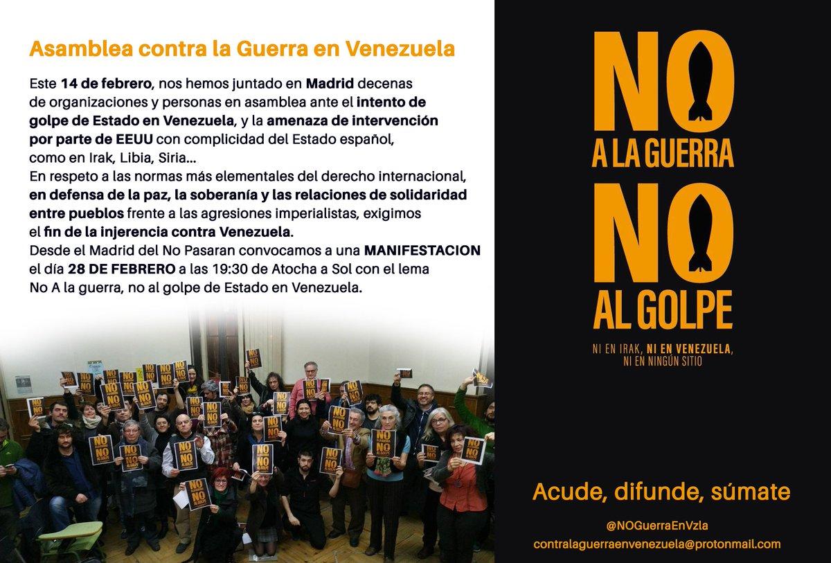 Resultado de imagen para no a la guerra en venezuela