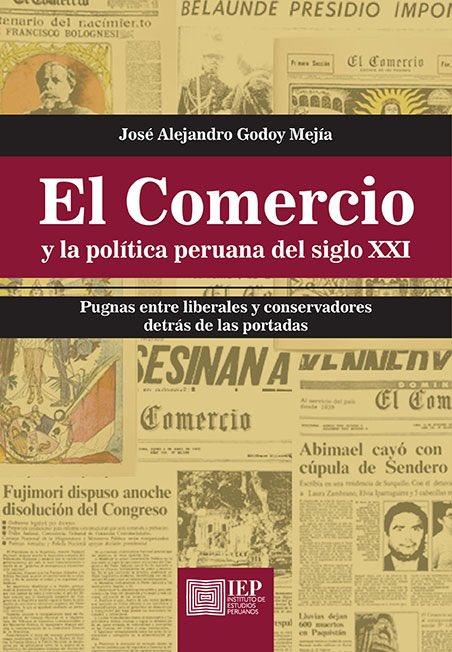 """""""El Comercio y la política peruana del  siglo XXI"""" lo pueden conseguir en  @IEPeruanos, @libercommunitas, @elvirreylibros, @LibreEscena (@CCULTURALPUCP), @IberoLibrerias, @LibreriaSur, librería de la @pucp y @LibreriaSBS"""