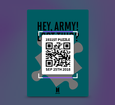 #ARMYPEDIA  Possible QR codes to look out for beside billboards: HYUNDAI PALISADE KOREA YAKULT COCA-COLA LG LOTTE BT21 PUMA VLIVE BANGTANTV VT COSMETICS SMART UNIFORM KB BANK T-MONEY PLAY-UP YAHOO JAPAN SUPERSTAR BTS BTS WORLD ALBUM BLOG FB YT TW SMERALDO BLOG  and more @BTS_twt<br>http://pic.twitter.com/Gj4EFvf3vY