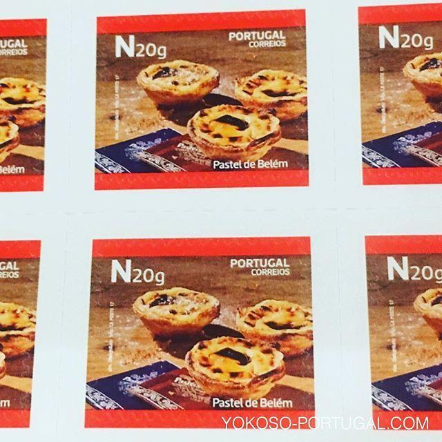 test ツイッターメディア - ポルトガルを代表するスイーツ、エッグタルトの切手。 #ポルトガル https://t.co/c8gSeiw9Go