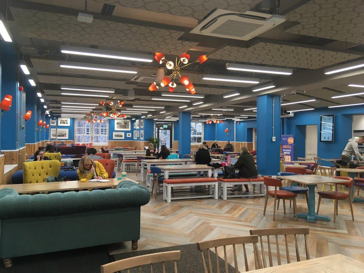 Wow....amazing new space @UniofExeter at st Luke's campus Cross Keys #perfectmeetingspace #lightandbright #functionalbutfun #loveexeter #partyspace  #eventprofs <br>http://pic.twitter.com/8NiEQiVj9k