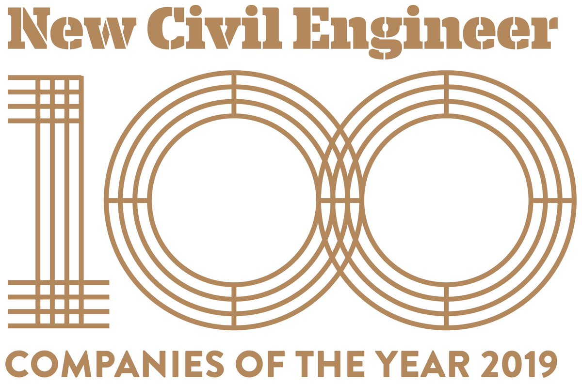 Fantastic news that yet again @bwbconsulting has been named one of the top 100 Civil Engineering companies in the 2019 #NCE100 list. Thanks @NCE100Awards<br>http://pic.twitter.com/p8ab9jmtDL