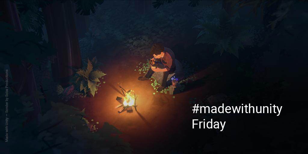 #madewithunity Friday is on again! It's the best day of the week - we can't wait to see what you're working on & RT some of our favorites!