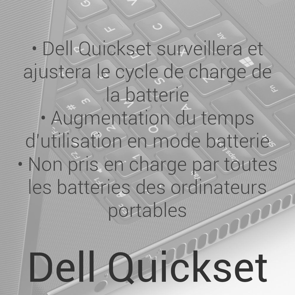 what does dell quickset do