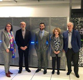 El supercomputador Atos #BullSequana de @UMS_CALMIP, uno de los centros de supercomputación uni...