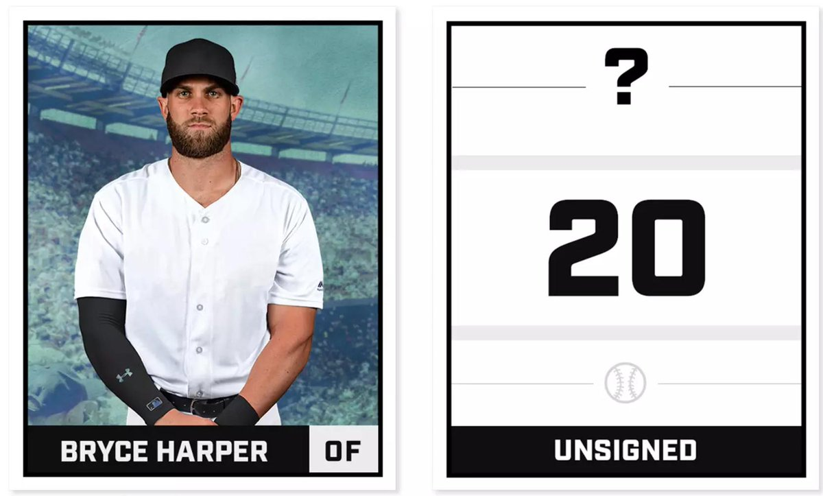 He may not have a team to play for yet, but this is how Bryce Harper graded out in our MLB top 100:  https://t.co/cD2Cg9Rvb8