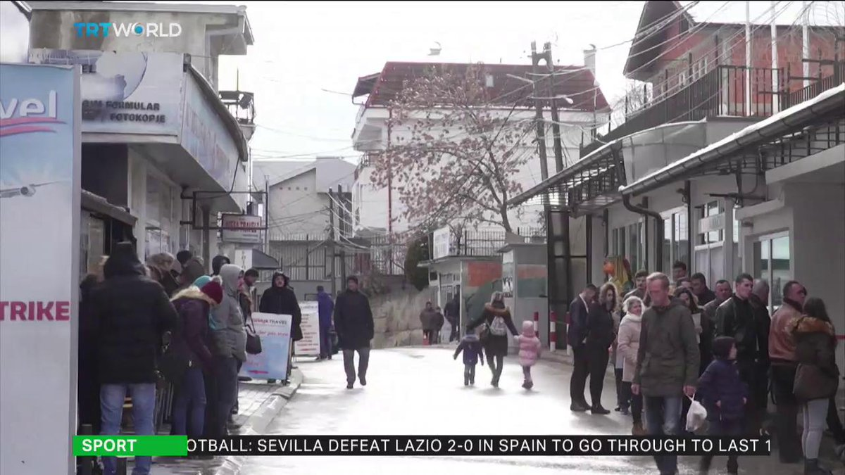 Does Europe's Schengen zone discriminate against the people of Kosovo?