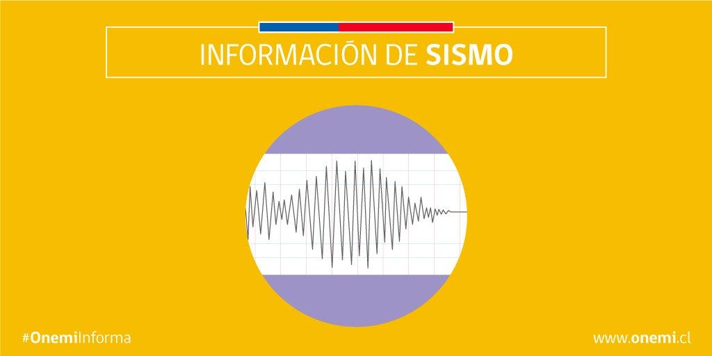 RT @onemichile Sismo de menor intensidad en la Región de Coquimbo. Infórmate en https://t.co/OFmIDadvHr