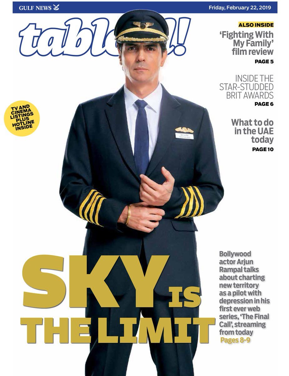 In an exclusive interview, #Bollywood actor @rampalarjun talks about his web debut, #TheFinalCall, which drops today on @ZEE5Global #TabloidCover  https://t.co/WbQUkTW0o4