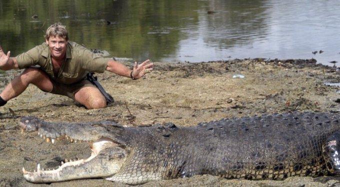 Happy birthday to the Crocodile Hunter, Steve Irwin!