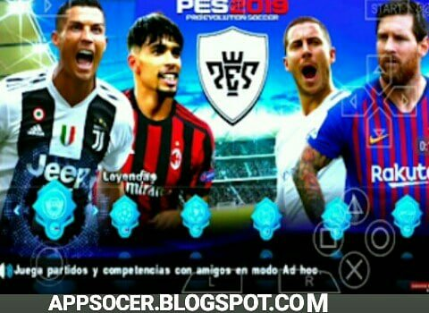 Download PES 2019 Mod UEFA Champions League Android HD By