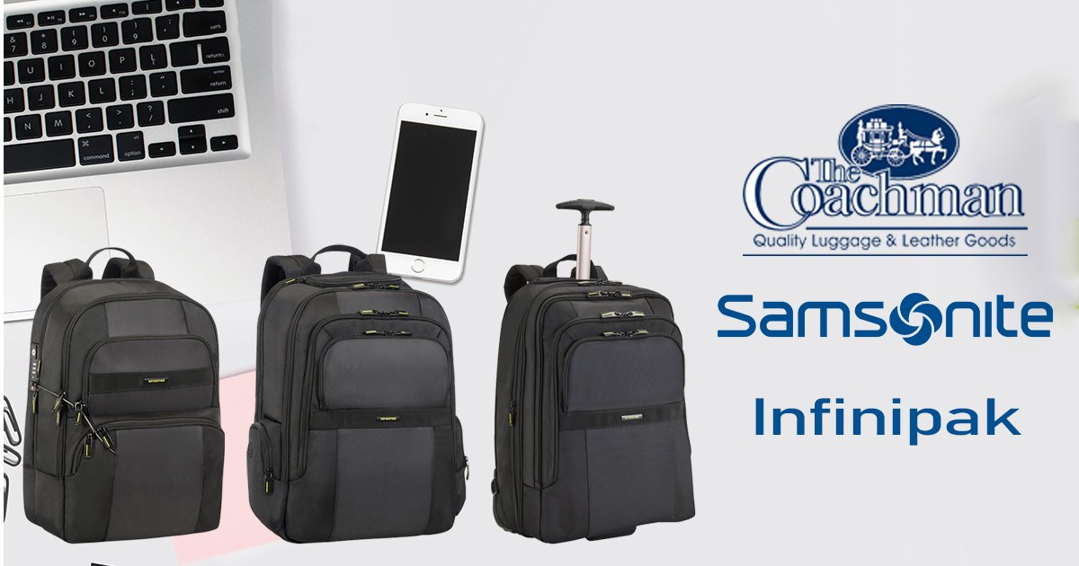 60d3f52e107b Samsonite has a new backpack range that includes a security backpack. You  can get yours in store or online.  Travel  Luggage  Quality  Wanderlust ...