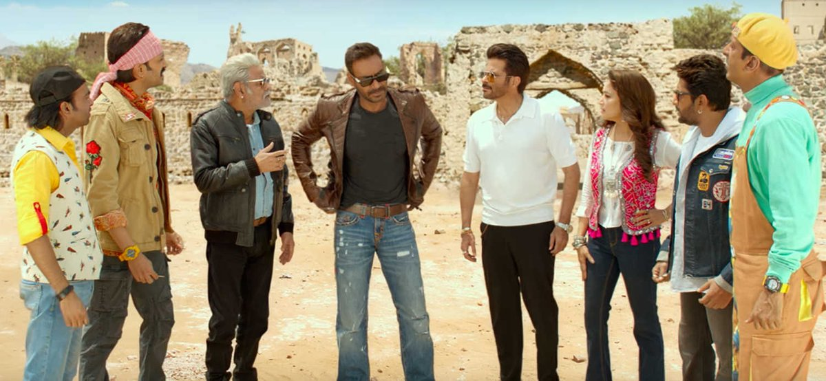 From @ajaydevgn to @AnilKapoor and @MadhuriDixit, the motley crew of #TotalDhamaal bring some genuine laughs to this madcap adventure. Our review:  https://t.co/TLC2Zzg6q8