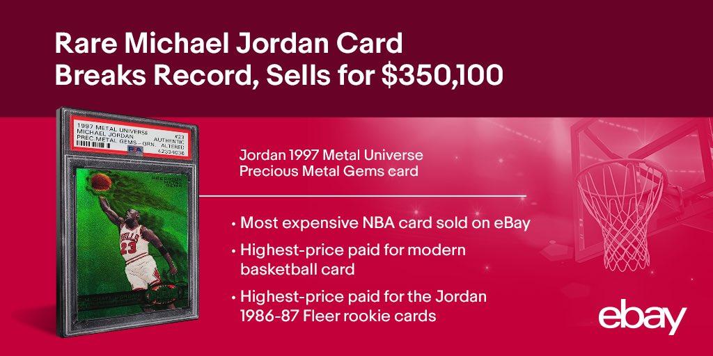 Ebay On Twitter Yesterday A Super Rare Michaeljordan