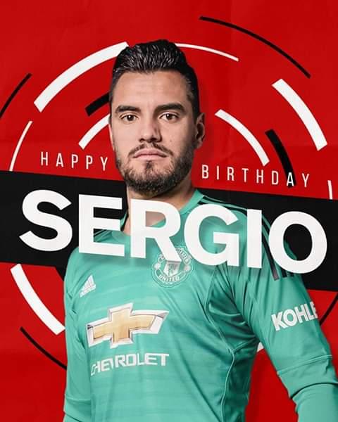 Happy 32nd birthday to Sergio Romero