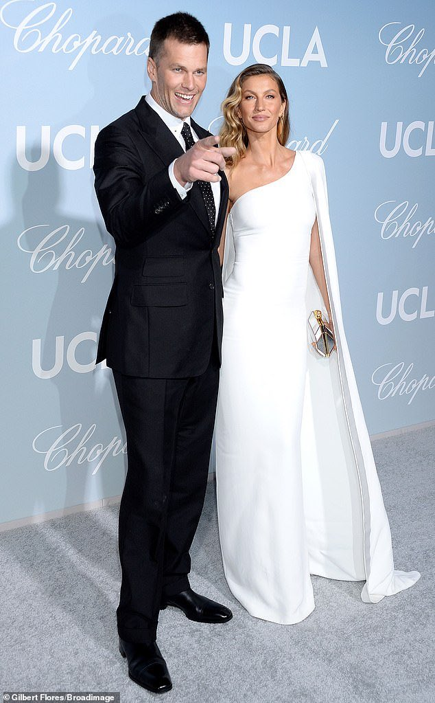 Gisele and Tom Brady are couple goals on the red carpet at a UCLA gala  <br>http://pic.twitter.com/uf3KxnEF0t