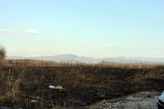 Опожарена трка кај струшко Калишта