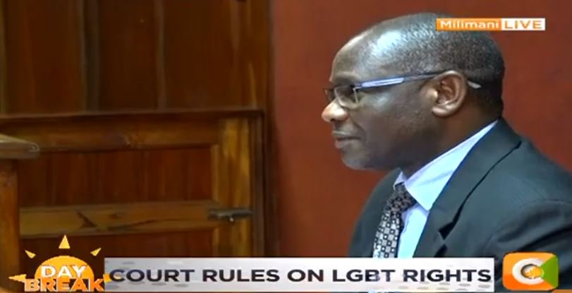 Court postpones judgement on decriminalising gay sex to May 24 as decision is not ready, Justice Chacha Mwita says #DayBreak <br>http://pic.twitter.com/wHfkJQtNiU