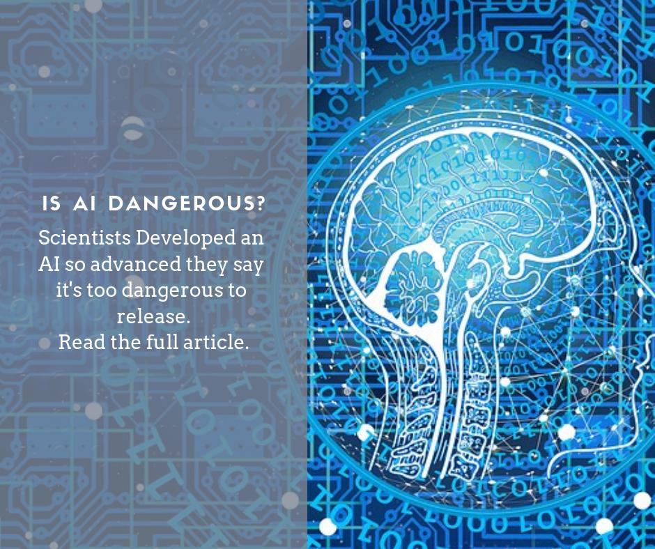 test Twitter Media - Scientists Developed an AI So Advanced They Say It's Too Dangerous to Release. Read the full article by @ScienceAlert https://t.co/ADgJza9qhR #ML #MachineLearning #DataAnalytics #InternetOfThings #IoT #AI #ArtificialIntelligence #Scientist #TechnologyNews #technology https://t.co/dXId5gNpFE