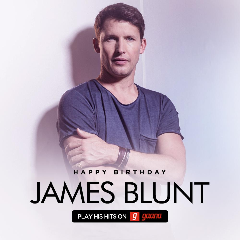 We're never saying 'Goodbye My Lover' to @JamesBlunt! Wishing this English Singer-songwriter the best in the world on the occasion of his Birthday! James, You're beautiful. ❤ Play the best of his tracks here: http://gaa.na/JamesBlunt #HappyBirthdayJamesBlunt