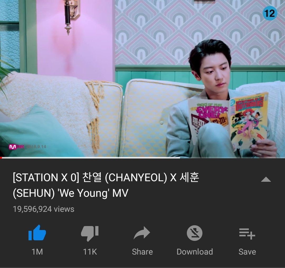 MASS STREAMING - WE YOUNG   EXOLs, join our mass streaming for &quot;We Young&quot;!    : 6 PM KST to 12 AM KST  Current views : 19,596,924 (-403,076)   There&#39;s not much time left and we haven&#39;t reach 20M views! We can do this together right?! Fighting    https:// youtu.be/3EgY4Arwv9E  &nbsp;  <br>http://pic.twitter.com/B8VHVcuXA5