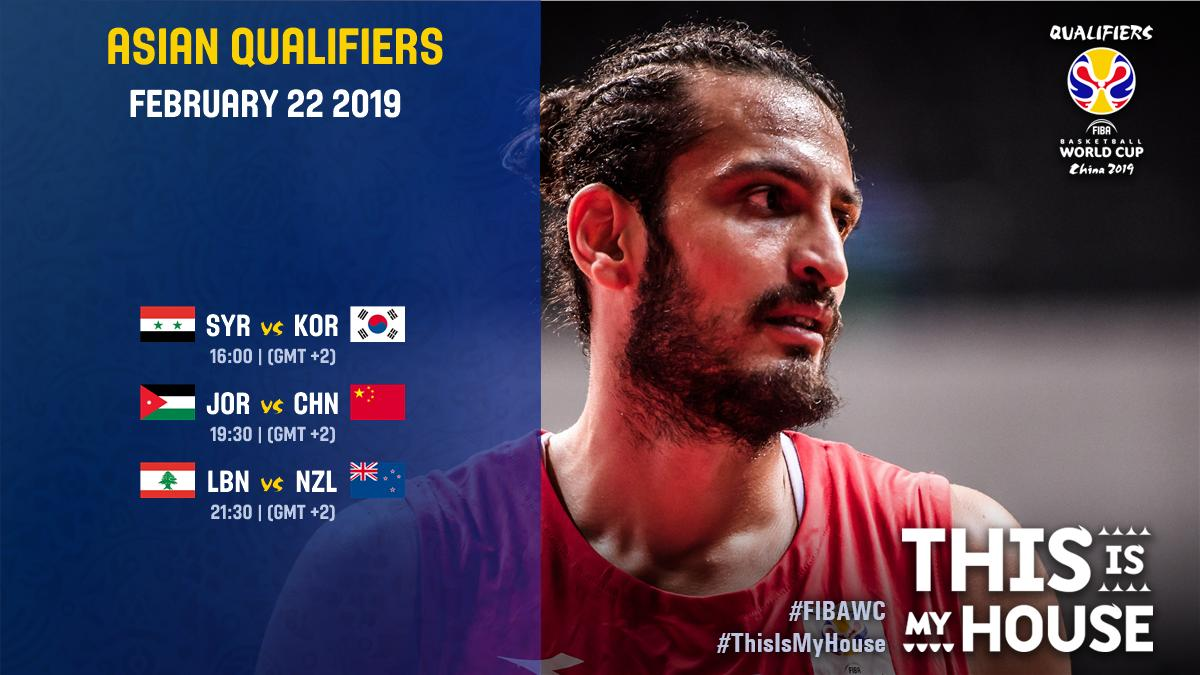 Who are YOU supporting on day 2⃣⁉️ 🇸🇾🇰🇷🇯🇴🇨🇳🇱🇧🇳🇿 #FIBAWC #ThisIsMyHouse   👉http://go.fiba.com/WatchNow_Asia   👉http://go.fiba.com/LiveBlog_Asia  👉http://go.fiba.com/FIBAWCapp