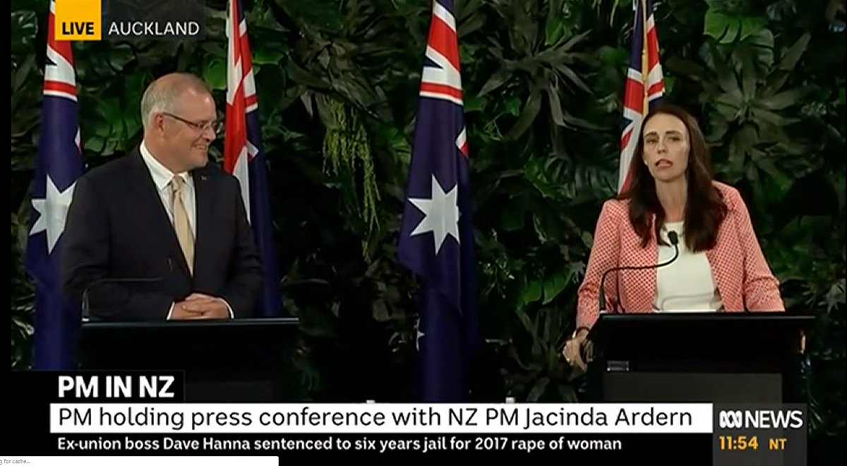 For the life of me, I can&#39;t understand why @ScottMorrisonMP went to NZ today, for 7 hrs, just to inspect troops &amp; have a meeting/press conference with @jacindaardern?  There was no pressing need, no &#39;forum&#39; or &#39;conference&#39;  It probably cost taxpayers a shitload  For what? #auspol <br>http://pic.twitter.com/xoL5XK2oTV