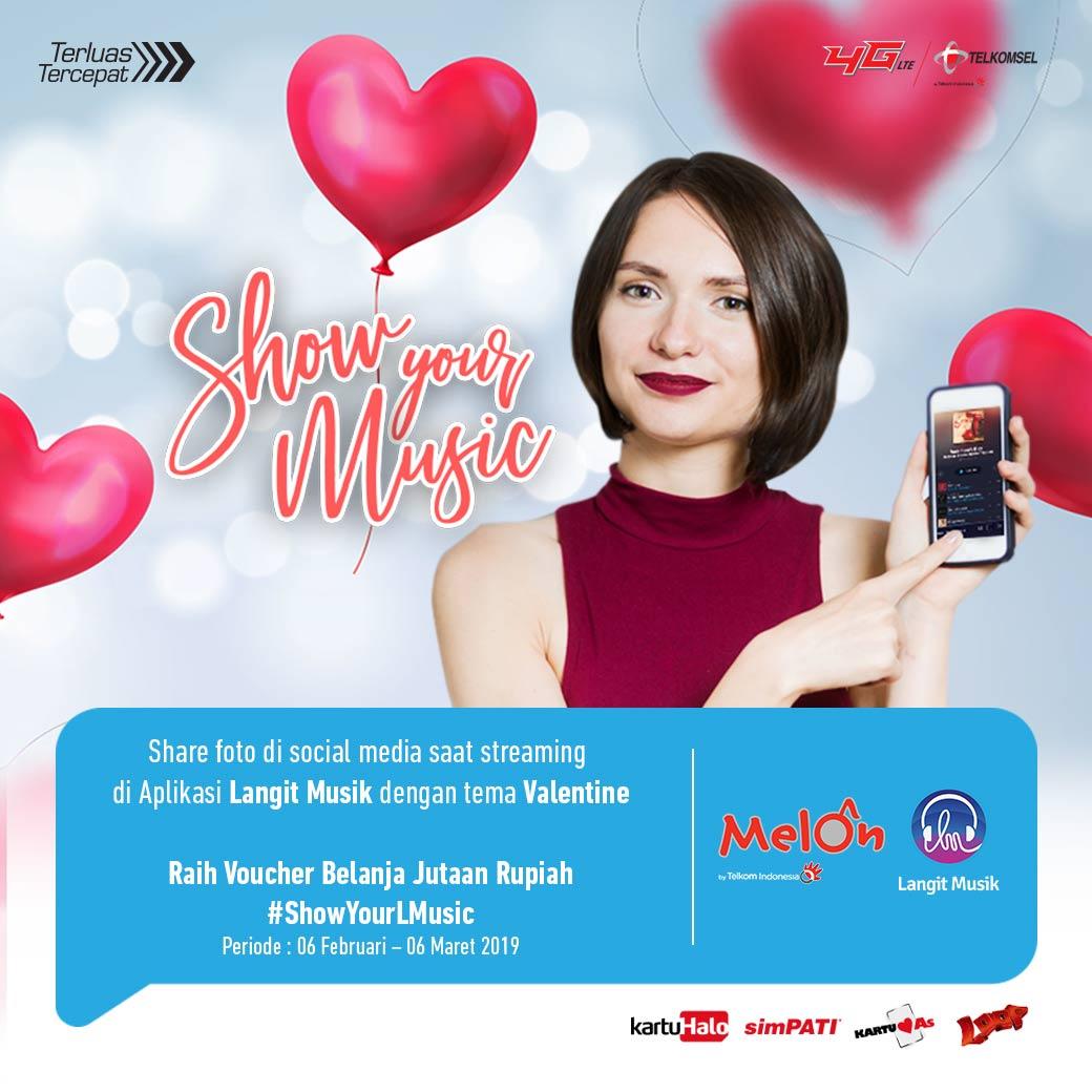 Sudah mendekati hari valentine nih! Sudah ikutan program Show Your Music Valentine dari Langit Musik belum?  Yuk, cek info lengkapnya di sini: http://lang.it/ShowYourMusic #ShowYourMusic