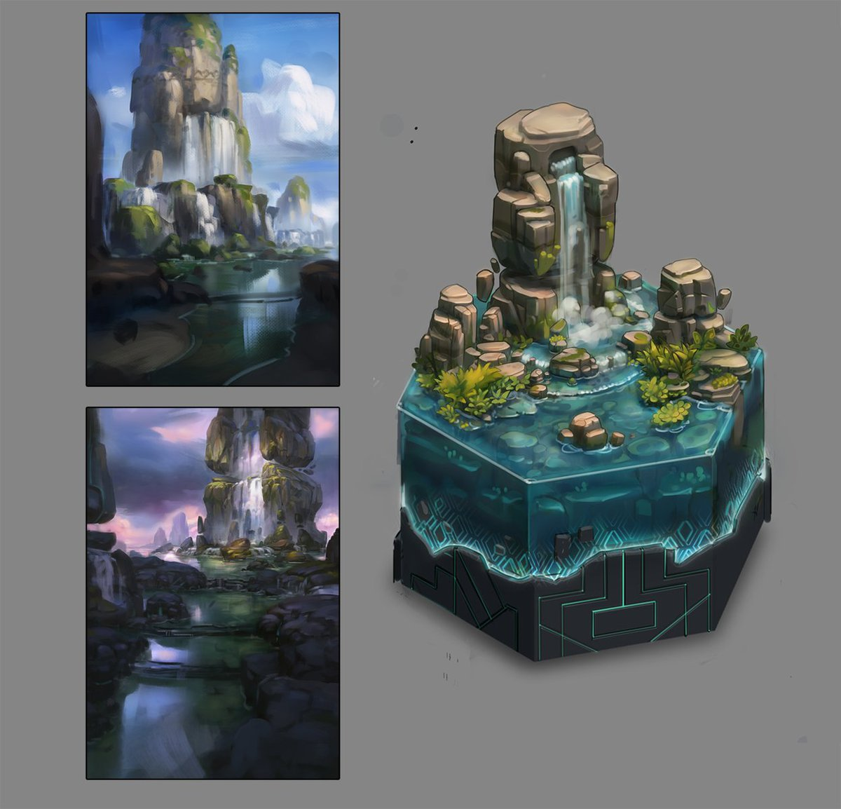 I really love working on isometric game art, there&#39;s something so comfortable in iso games that have been with me since Final Fantasy tactic advance &lt;3   Anyway! More Iso tile for Biome!   #isometric #gamedev #IndieDev <br>http://pic.twitter.com/Vtp7y3BuFC