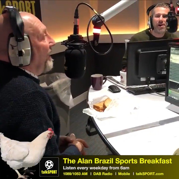 """""""They're more than just meat on a plate for some people!""""  """"Lovely birds but boy do they stink!""""  """"We had a running battle with a fox!""""  Ian Holloway discusses his love for keeping chickens at home 🐓"""