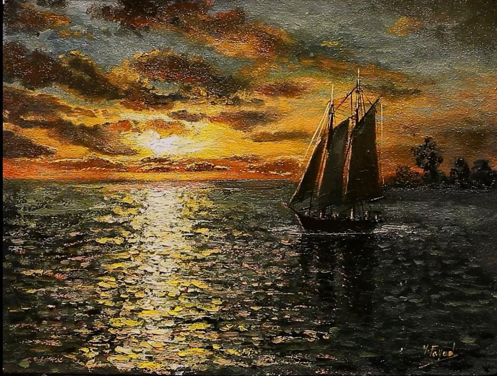 Sunset Seascape Oil Painting By Yasser Fayad https://t.co/9oOBvYiunH …    via @YouTube #oilpainting, #artist, #art, #paintings, #pleinair, #gallery, #drawing, #wildlifeart,  #arthistory https://t.co/pPNboSb2Fq