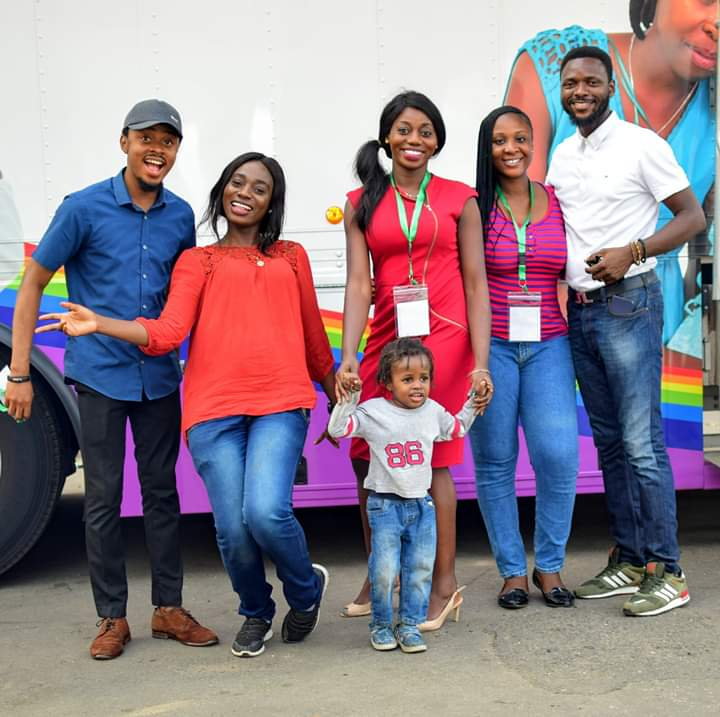 #FlashBackFriday  We look back to our Cancer Advocacy Outreach in partnership with Pink Cruise Nigeria.  We cherish every opportunity to serve our host community.  #IAmAndIWill   #Asharami<br>http://pic.twitter.com/VPDShDirKb