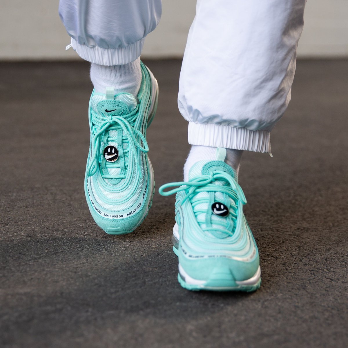 cb1976f41 ONLINE NOW! Nike Air Max 97 Se (Gs) - Tropical Twist Black-Teal Tint-White  SHOP HERE  http   bit.ly 2tvnORG pic.twitter.com meX5YPXt8r